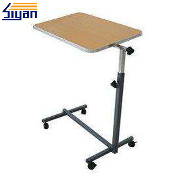 Portable Custom Wood Table Tops , MDF Split Laptop Table Top With PVC Film Surface